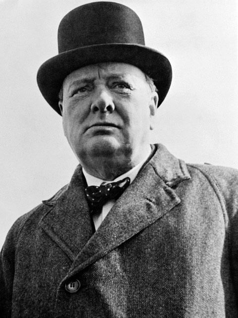 Winston Churchill stotterte mal stark, mal gar nicht.