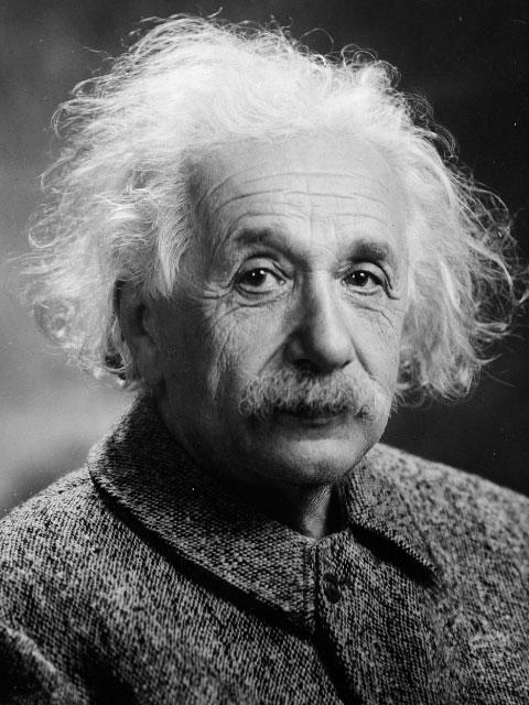 Albert Einstein stotterte als Kind.