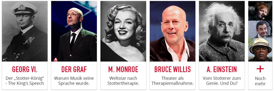 11 Berühmte Stotterer und ihre Erfolgsgeschichten