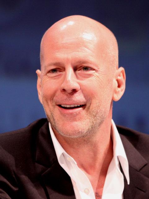 Bruce Willis stotterte, bis er im Theater seine Lösung fand.