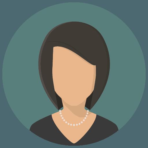 Weiblicher Platzhalter Portrait