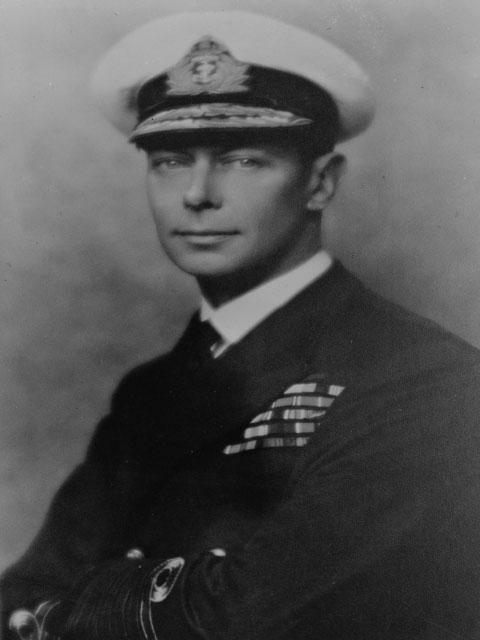König Georg VI. der Stotter-König.