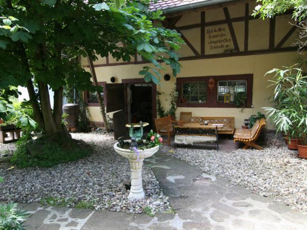 Außenbereich der Stottertherapie in Süddeutschland