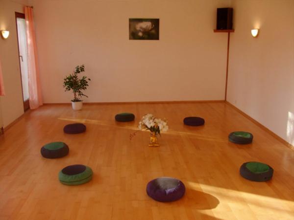 Der Seminarraum Extasy der Stottertherapie in Süddeutschland