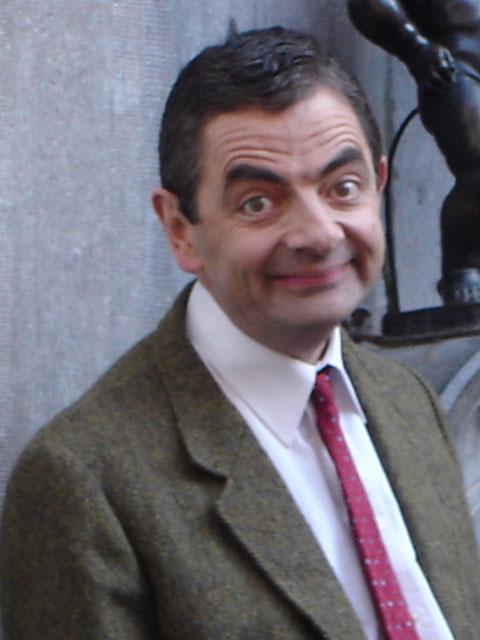 Mr. Bean stottert nicht nur in seiner Rolle.