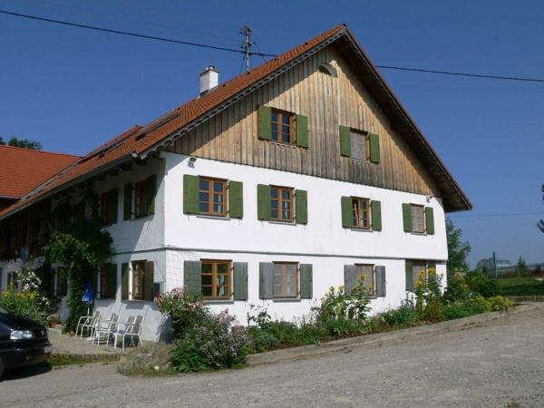 Das Seminarhaus im Sommer der Stottertherapie in Süddeutschland