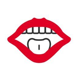Sprechtechnik Icon: Ein sprechender Mund