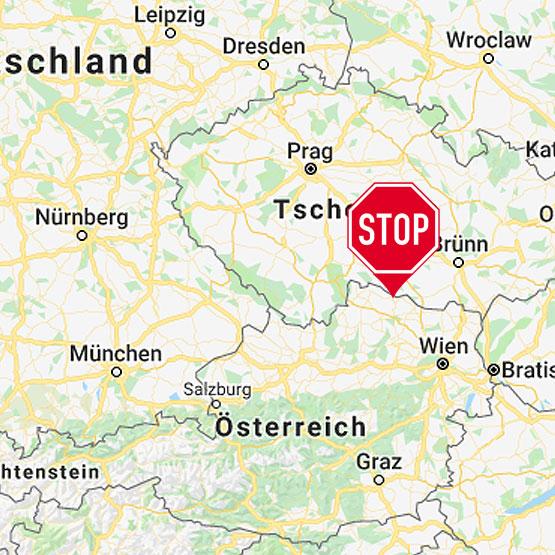 Der Standort vom Stotterer-Training in Österreich (Drosendorf)