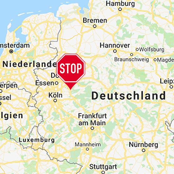 Der Standort vom Stotterer-Training in Westdeutschland (Lüdenscheid)