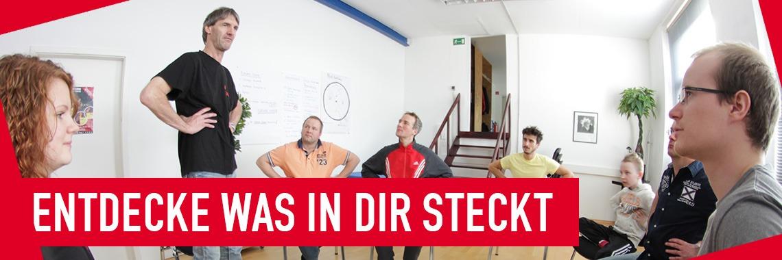 Probe-Training der Stottertherapie nach Hans Liebelt: Entdecke was in Dir steckt